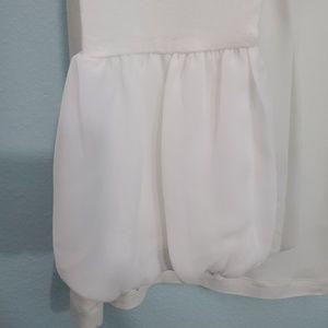 CAbi Tops - Cabi White Long Sleeve Blouse